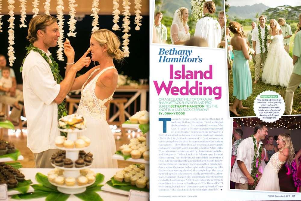 Bethany Hamilton's Island Wedding