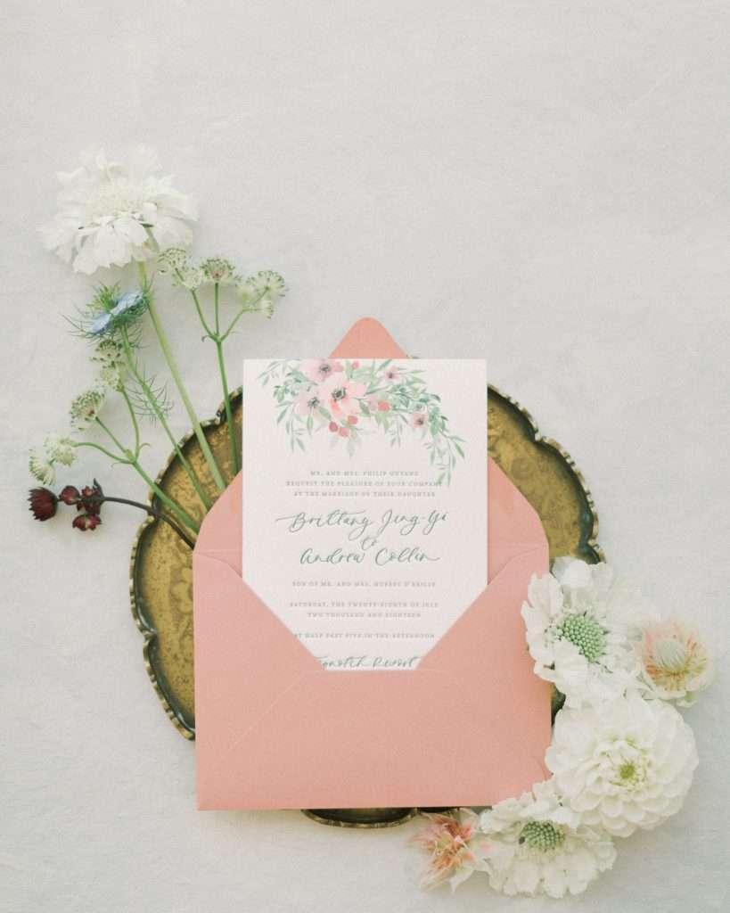 Wedding invite example