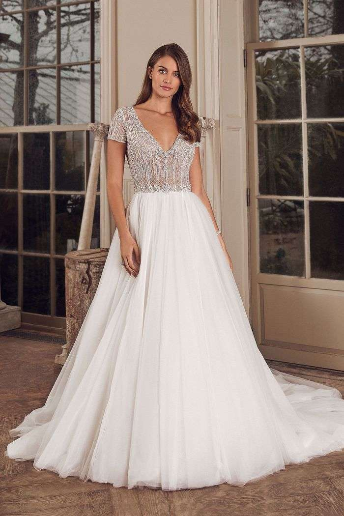Metallic Wedding Dresses Archives Mon Amie Bridal Salon